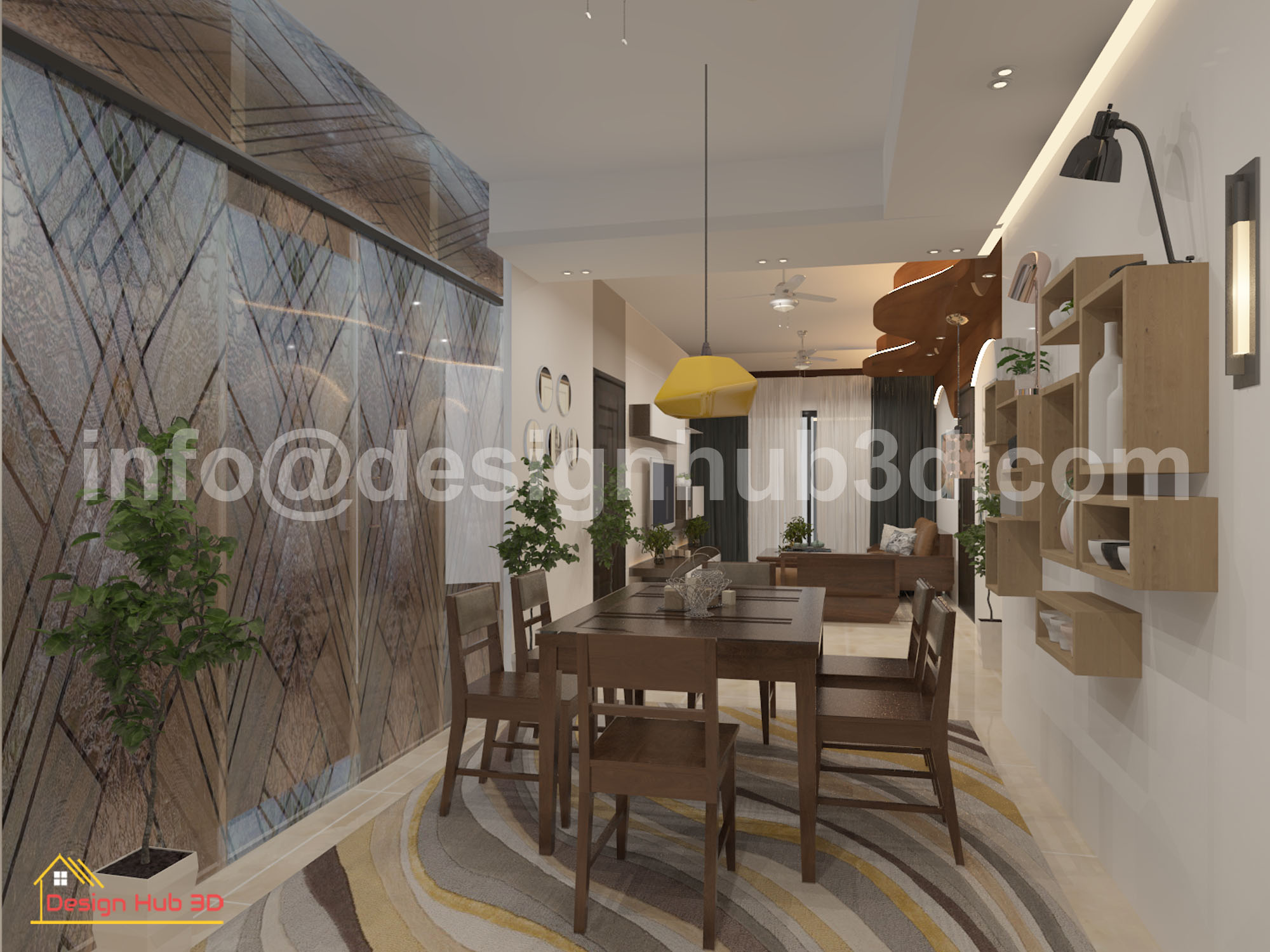 DesignHub 3D-Dining