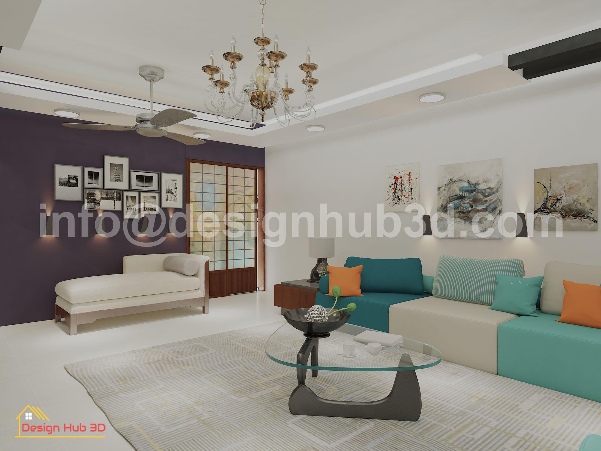 Designhub3d-home decor, drawing interior, living room,interior design